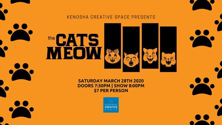 The Cats Meow at Kenosha Creative Space