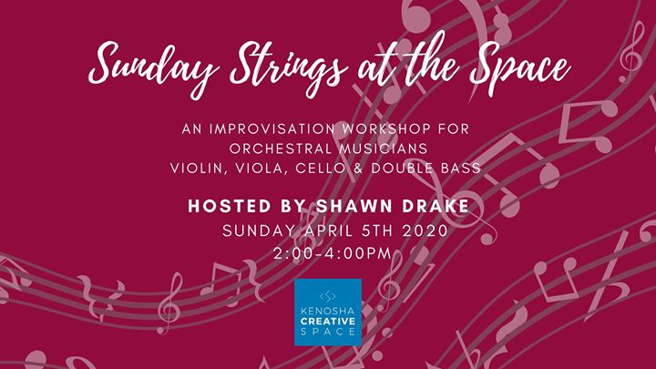 Sunday Strings Workshop with Shawn Drake