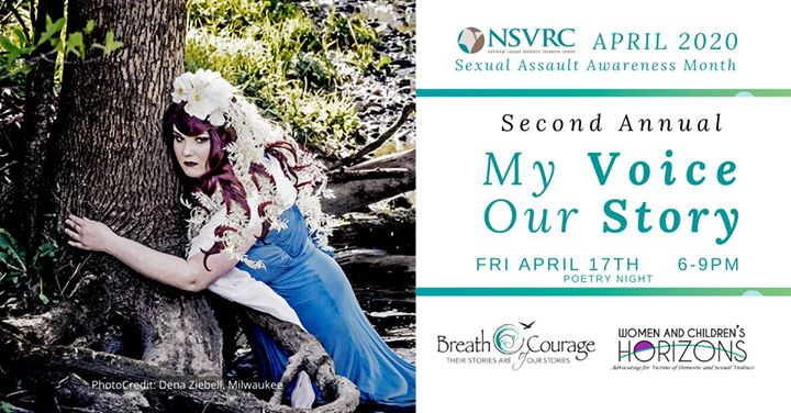My Voice, Our Story Poetry Night | Sexual Assault Awareness