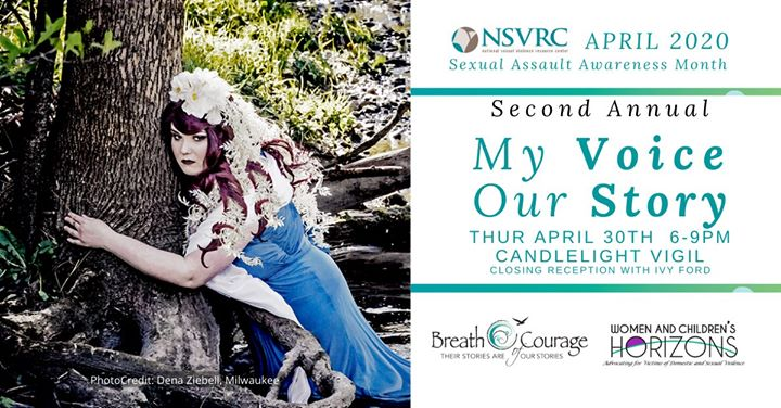 My Voice, Our Story Candlelight Vigil | Sexual Assault Awareness